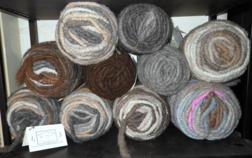 Multi Colored Core Spun (Rug yarn)